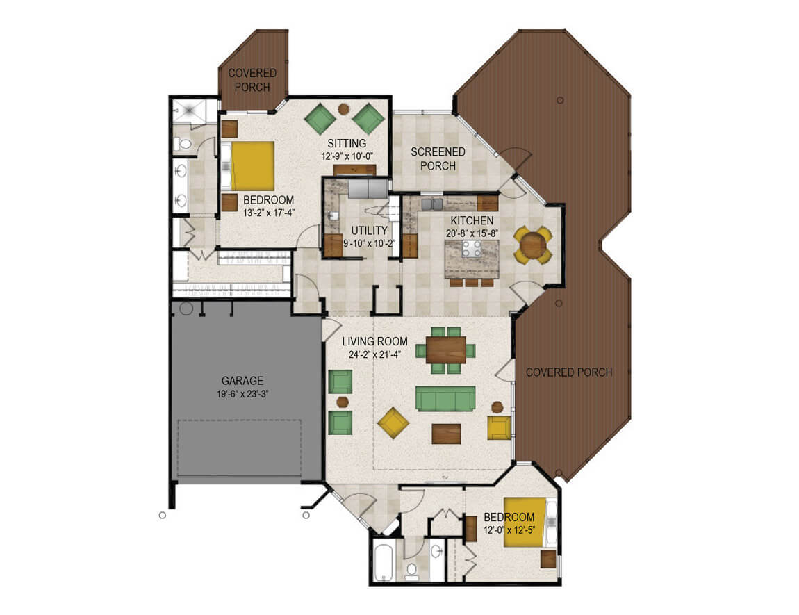 Trinity Woods Senior Apartment Floor Plans Lakeside Homes