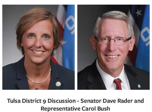 Tulsa District 9 Discussion
